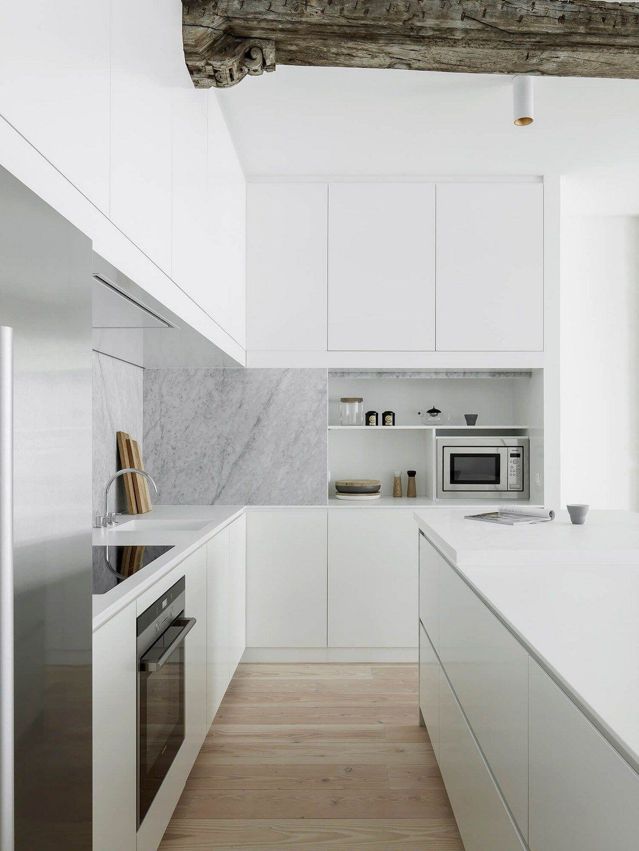 Contemporary Kitchen Interior Design: 40 Exciting Small Modern Kitchen Design Ideas (27) (With