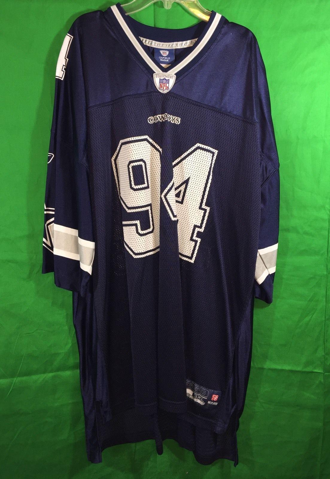 best authentic b8236 ffde2 NFL, Dallas Cowboys, DeMarcus Ware #94 Blue Reebok Jersey ...