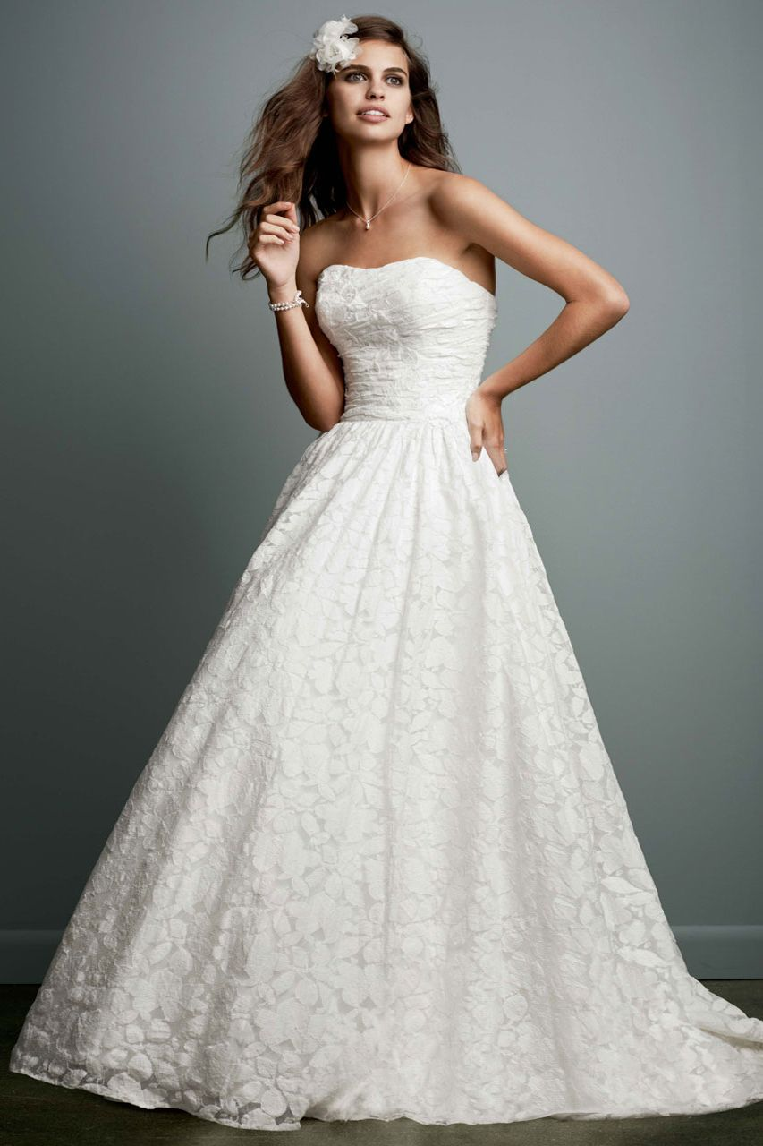 Galina gown available exclusively at davidus bridal db wedding