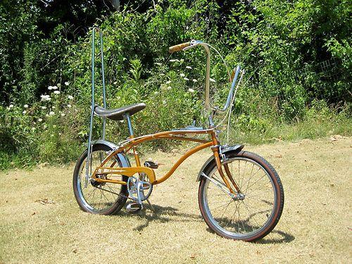 Original Coppertone 1967 Huffy Rail Stingray Muscle Bike