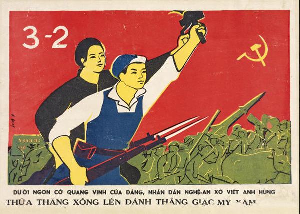 Vietnamese propaganda posters | Chinese propaganda posters ...