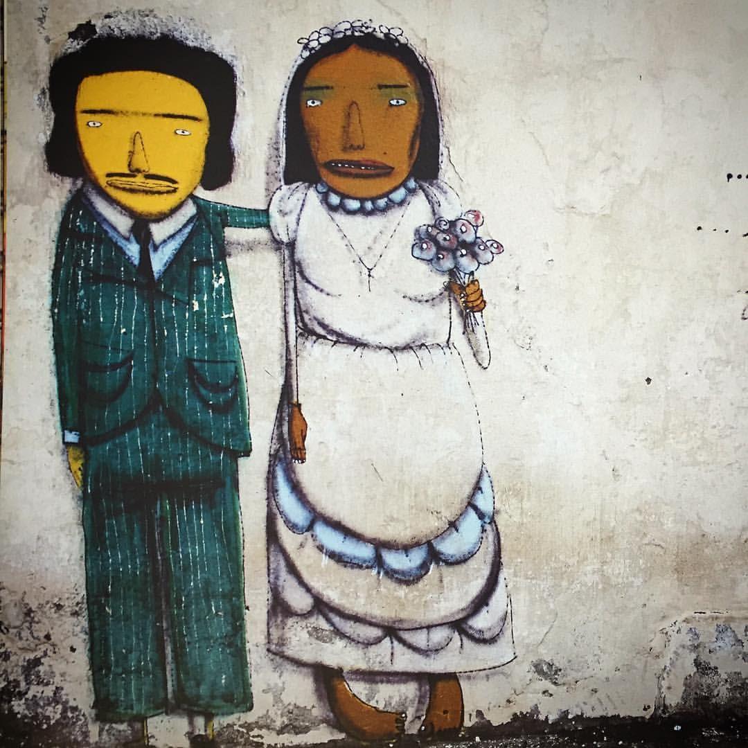 O casório de Paminondas e Gioconda ! #amorétudo  #onelove #osgemeos
