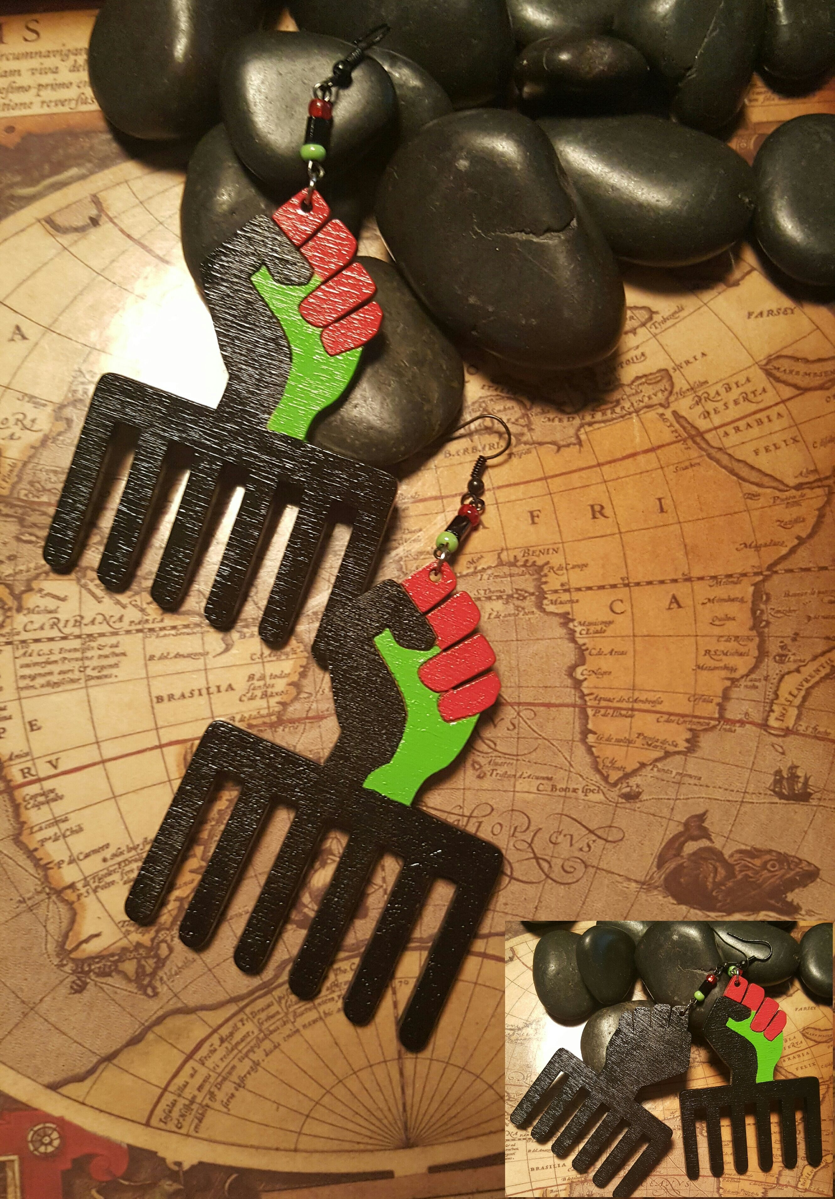 Rock your rbg and bp pride with these power fist and duafe comb 3 x 25 duafe wooden comb symbol of beauty and cleanliness symbols of desirable feminine qualities the meaning biocorpaavc