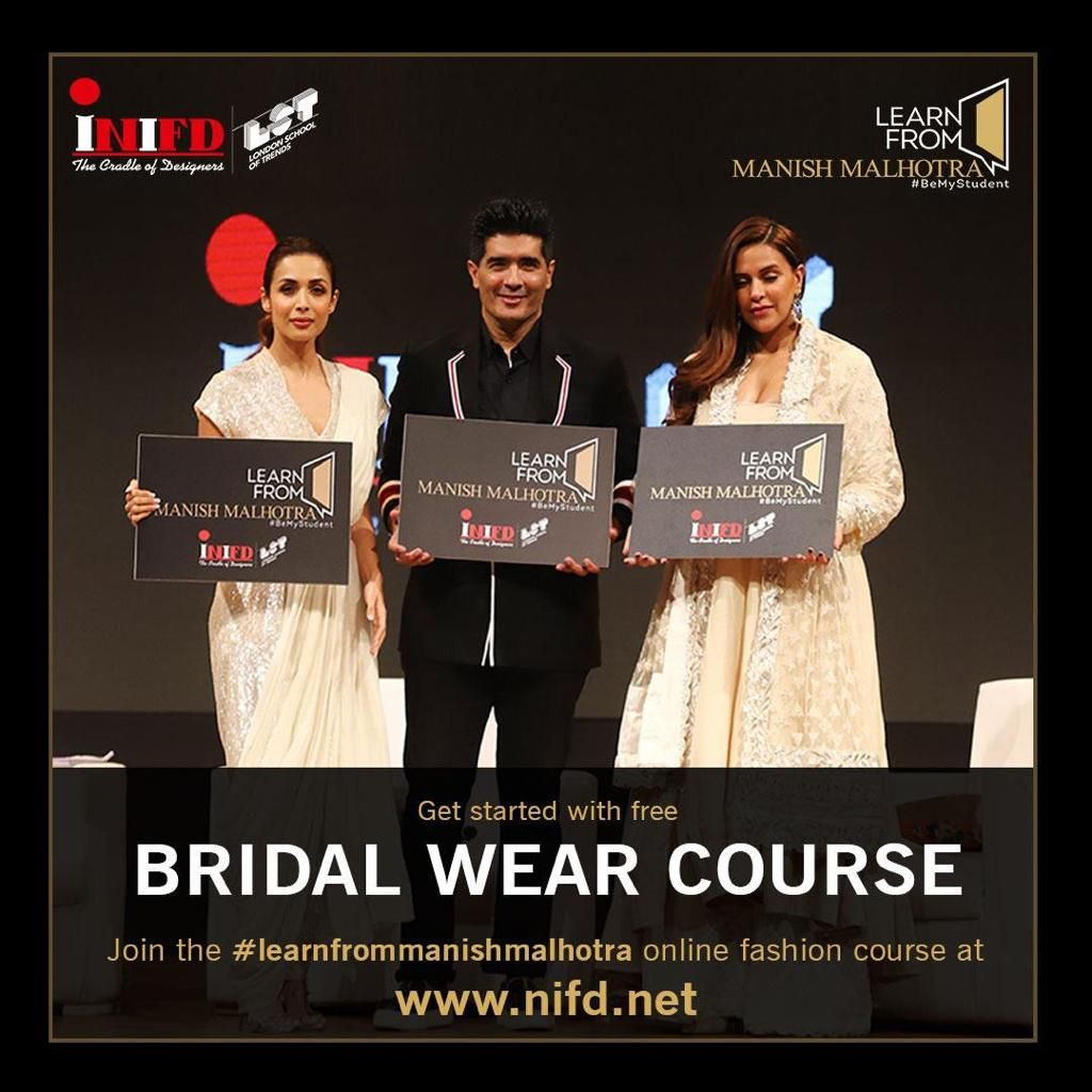 Pin On Bridal Wear Course Learn From Manish Malhotra