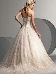 wedding dress - love the back!