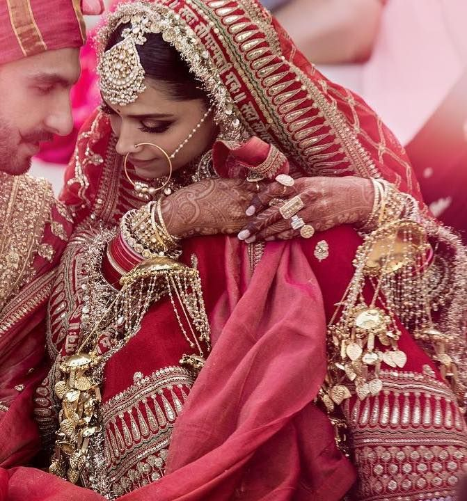 18 Ideas To Steal From Deepika Ranveer S Wedding Urbanclap Indian Bridal Outfits Indian Wedding Outfits Indian Bridal Photos