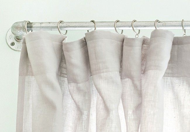Weekend Projects 5 Clever Designs For A Diy Curtain Rod Diy