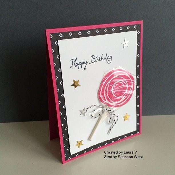 Shannon West Birthday Card