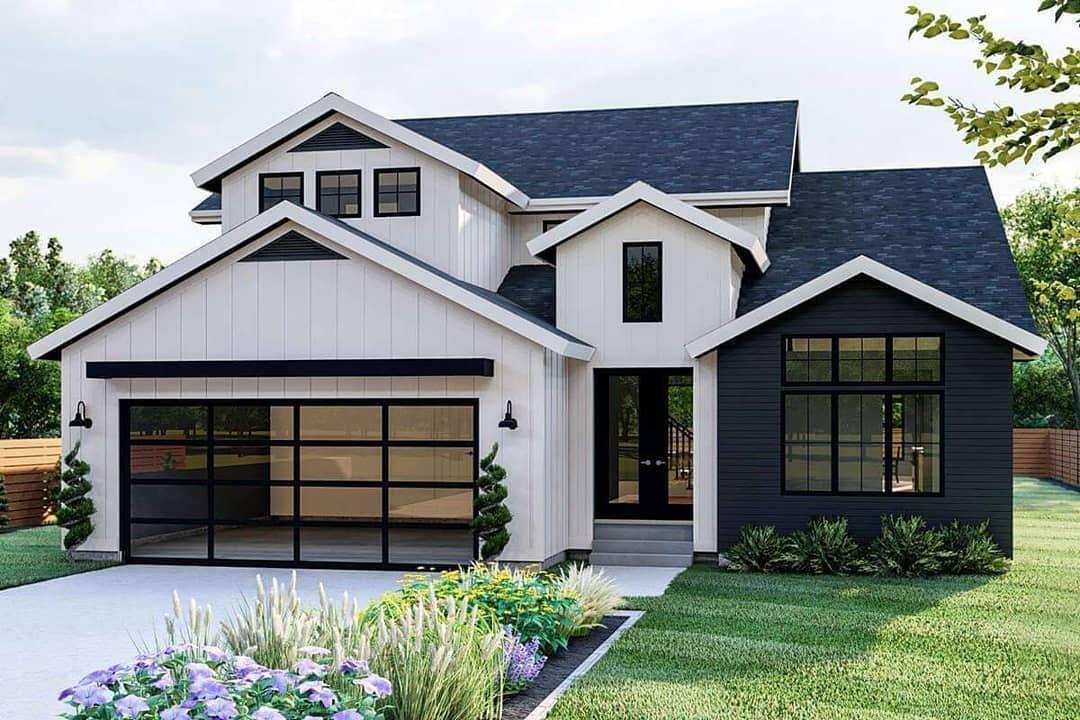 America S Best House Plans On Instagram Delivering Modern Farmhouse Details Plan 963 00448 In 2020 Brick Exterior House Modern Farmhouse Plans House Plans Farmhouse