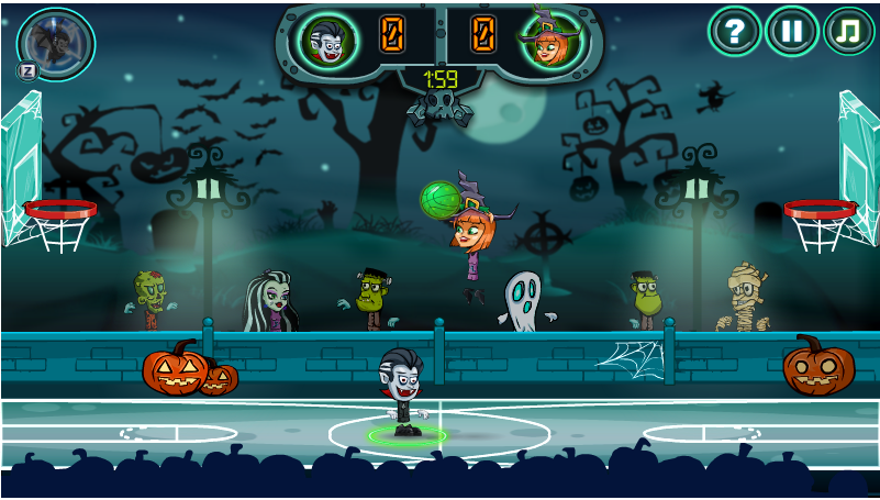 Halloween Basketball Legends Https Online Unblocked Games Weebly Com Halloween Basketball Legends Html Basketball Legends Basketball Skills Basketball Camp