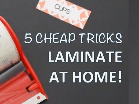 How To Laminate Paper With Pictures Wikihow Laminating Paper Posters Diy Laminators