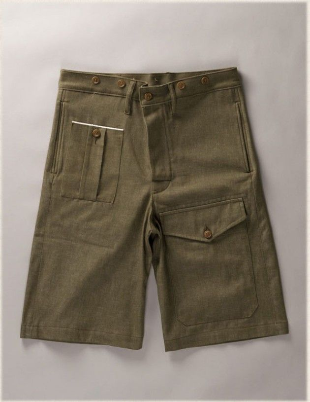2a0f4e6968c4 WW2 Shorts - The Nigel Cabourn Authentic line is inspired by original  vintage military