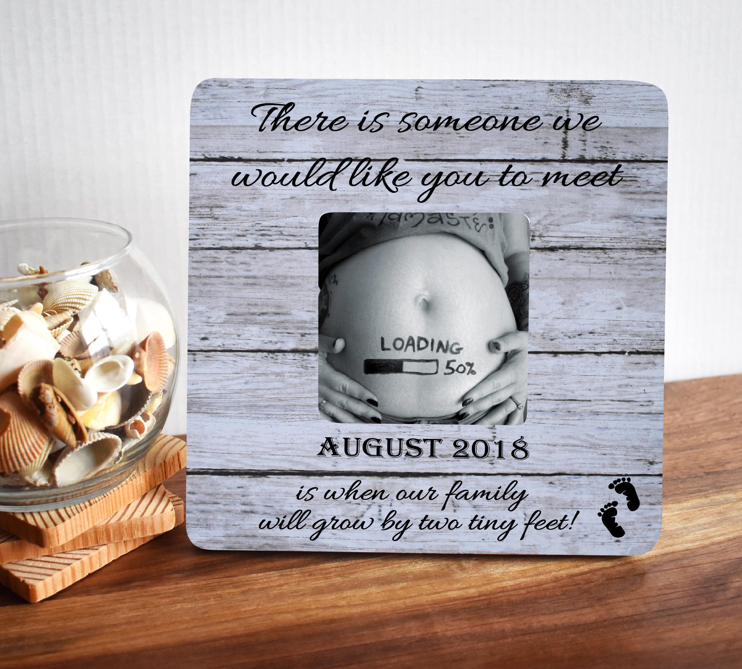 Ultrasound Frame Baby Shower Gift Gender Reveal Pregnancy Reveal
