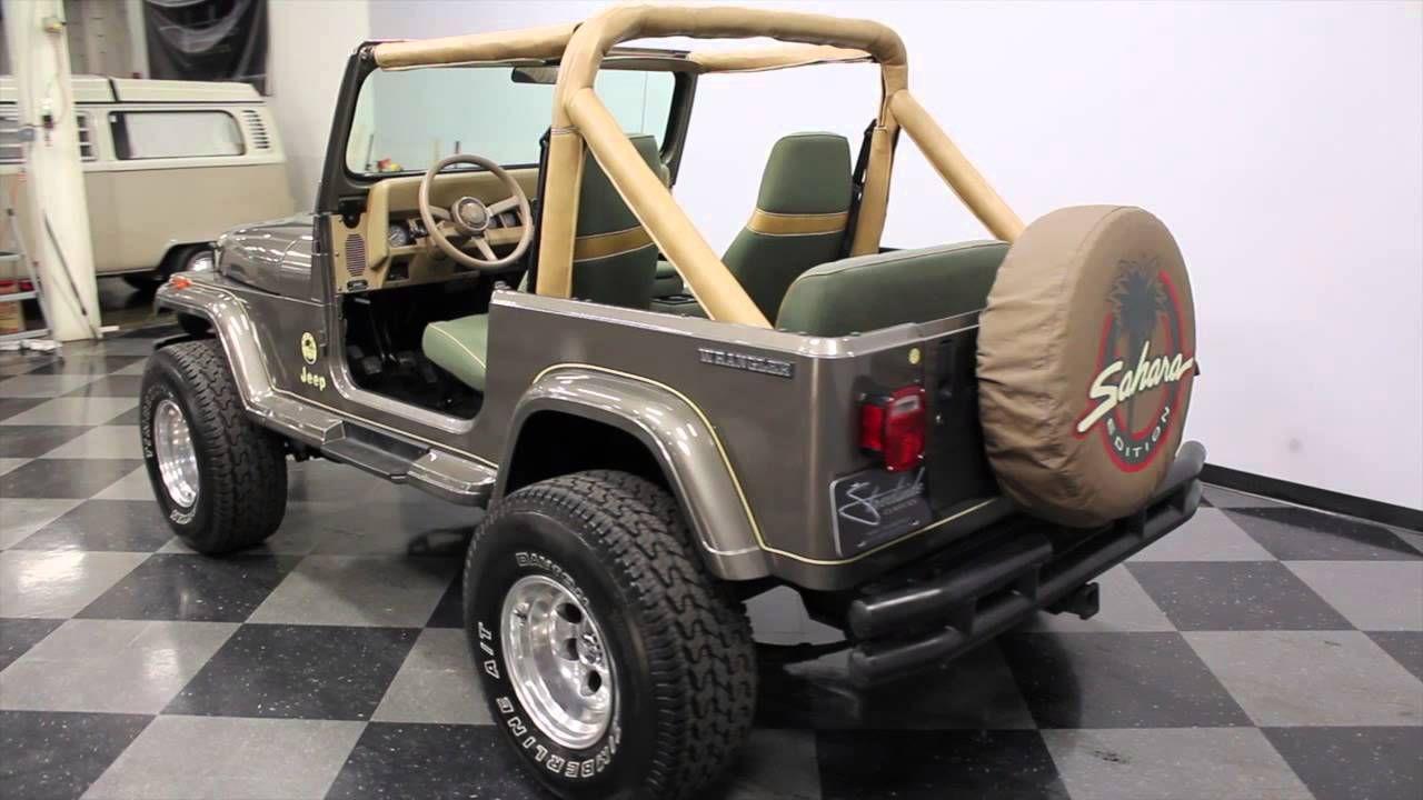 89 wrangler sahara 2474 cha 1989 jeep wrangler sahara