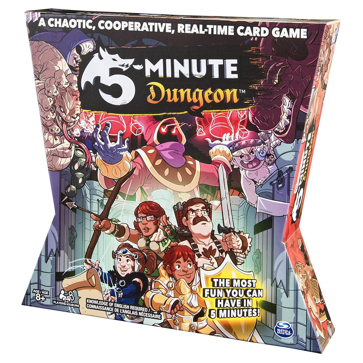 5 Minute Dungeon Fun Card Game for Kids and