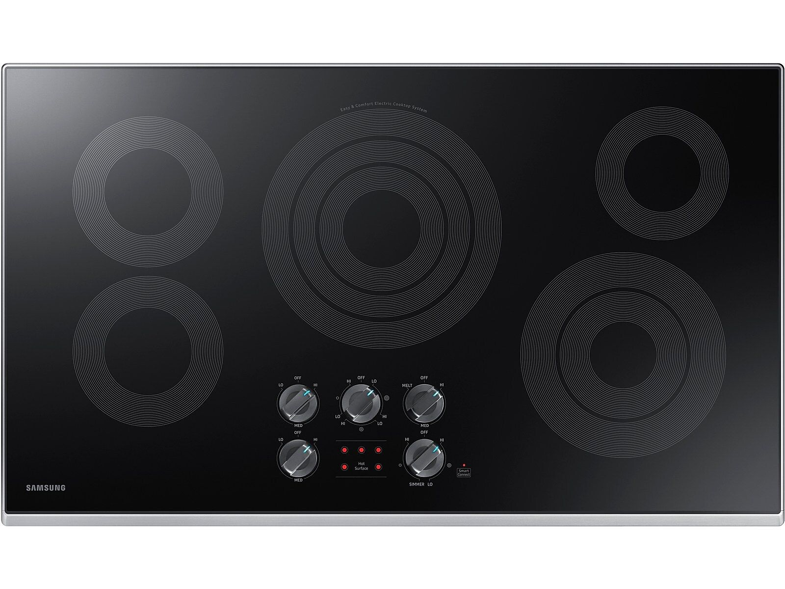 Samsung 36 electric cooktop in stainless steel electric