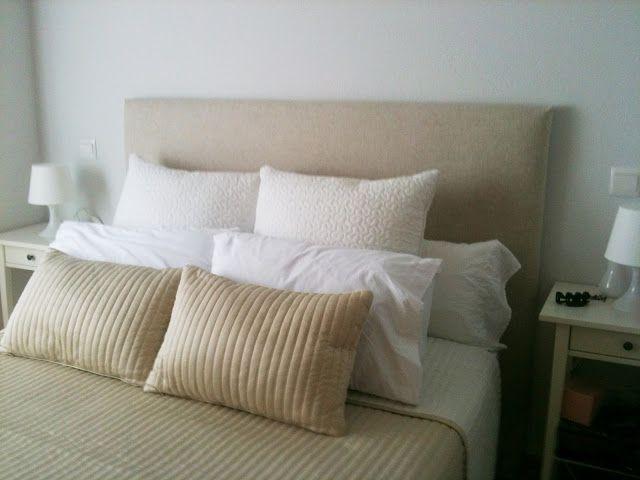 Diy el cabecero de eva home decoration pinterest bedrooms decoration and - Hacer cabeceros tapizados ...