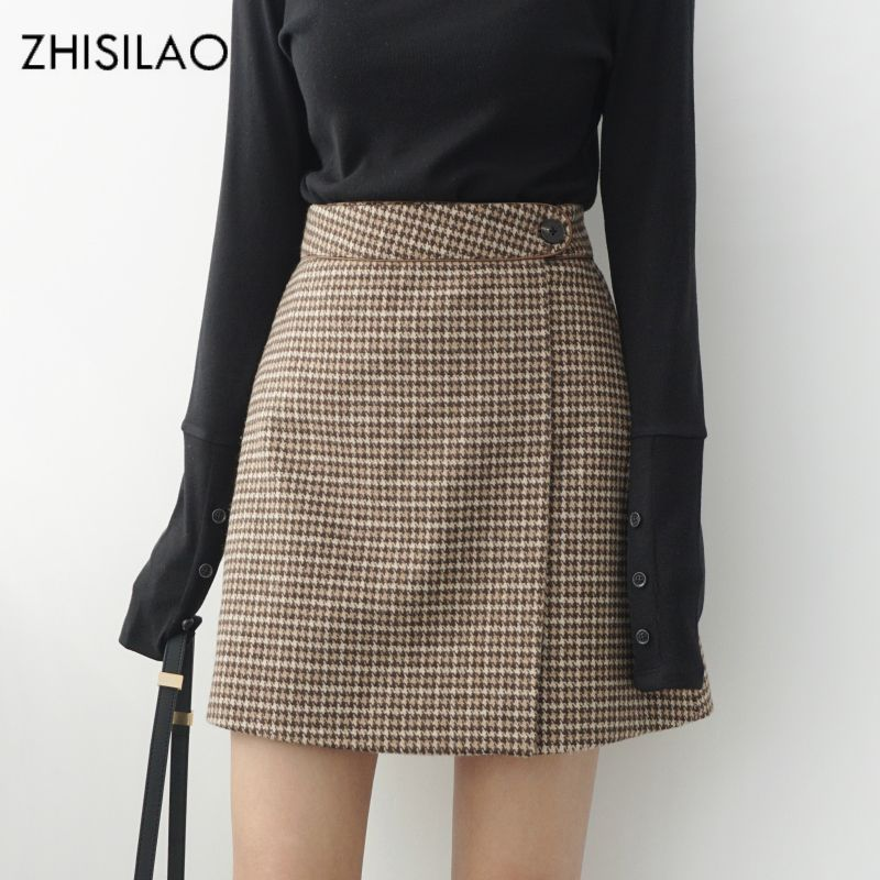 3f86a91e0a Cheap plaid skirt, Buy Quality pencil skirt directly from China women pencil  skirt Suppliers: ZHISILAO 2018 Woman Skirts Woman Pencil Skirt lolita  Bodycon ...