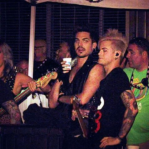 Adam Lambert Tommy Joe Ratliff Adam Lambert Pittsburgh Pride Adams
