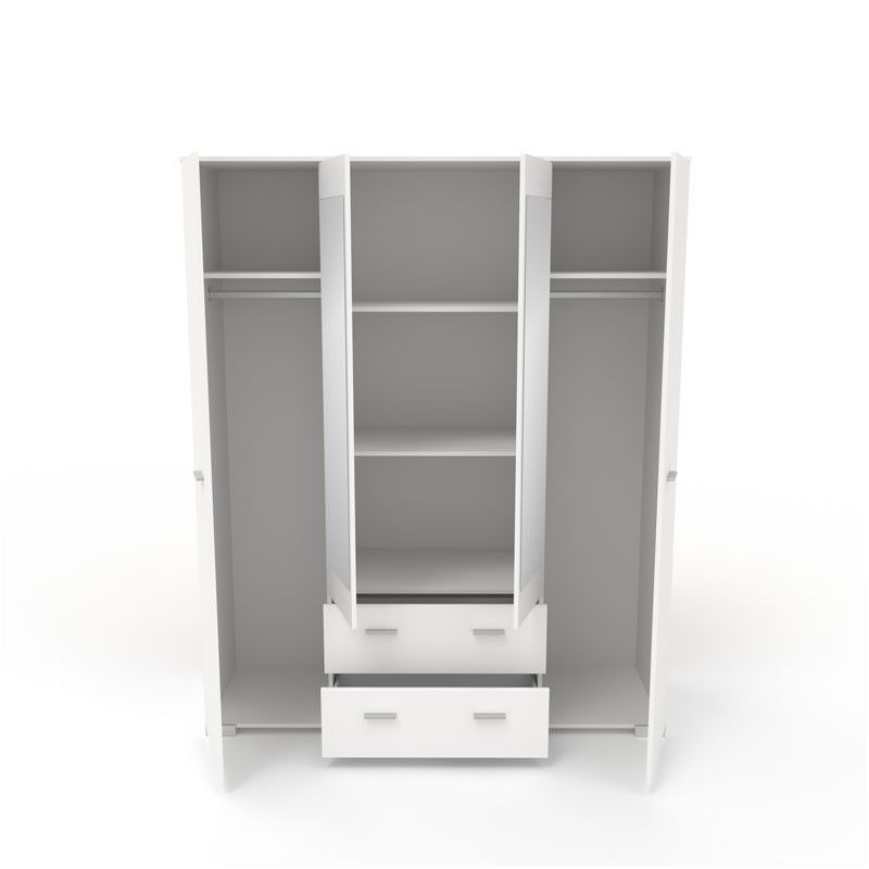 12 Prodigue Armoire Dressing Blanche