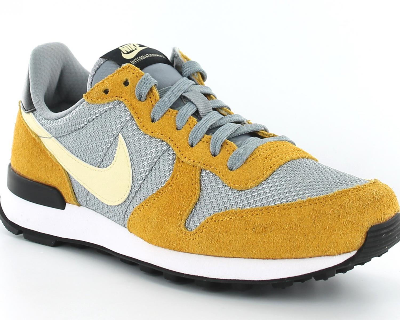 Nike Internationalist femme gris/jaune/beige