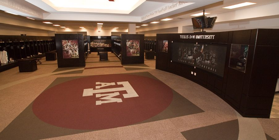 Image Result For Best College Football Locker Room