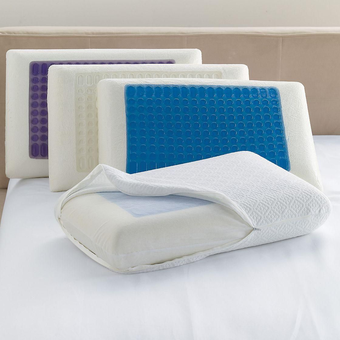 Cool Gel Top Memory Foam Pillow At The Company Store Bed Basics