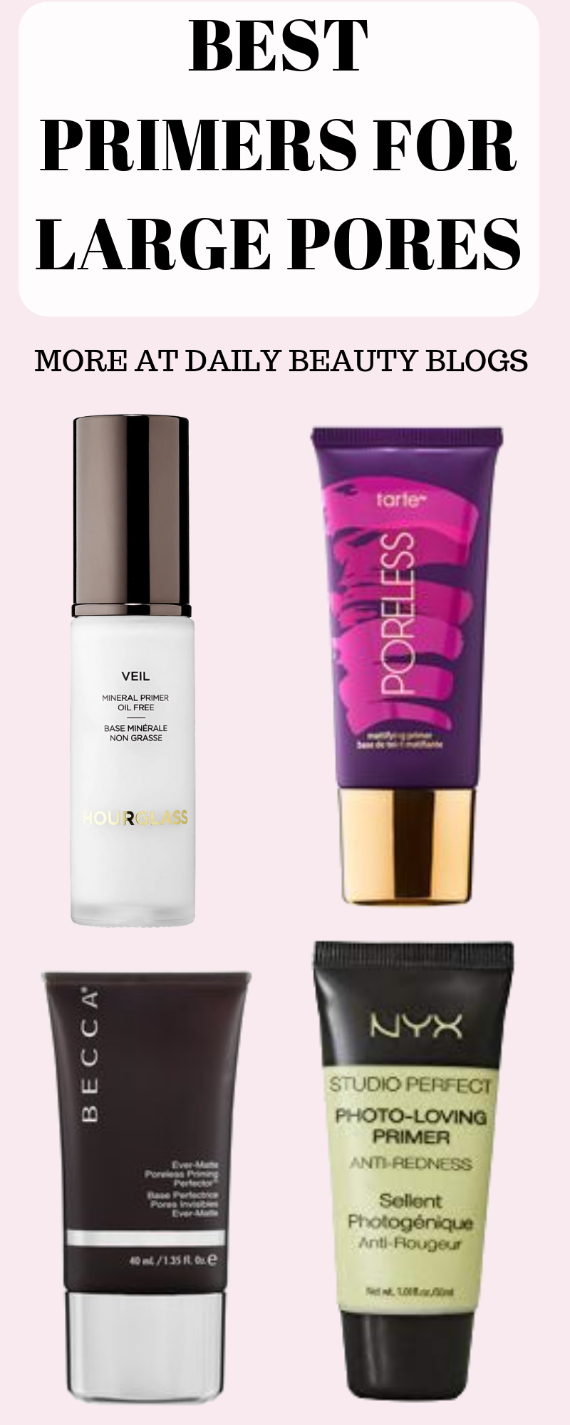 These 4 primers are just the tip of the iceberg when it