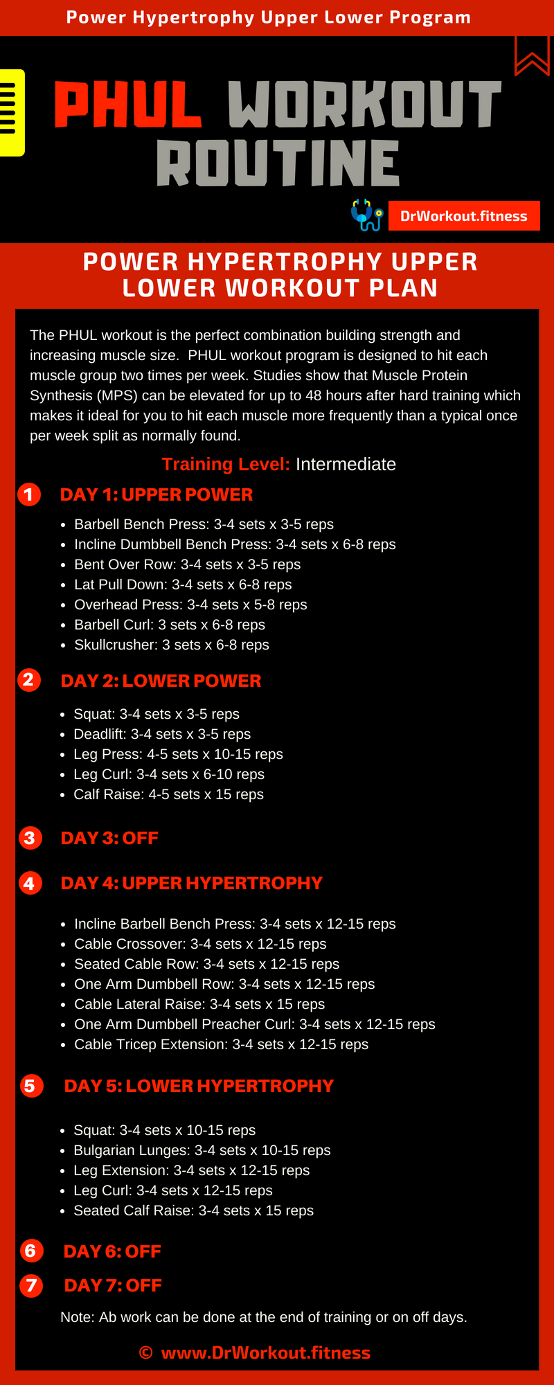 Phul Workout 3 Day | Yourviewsite.co