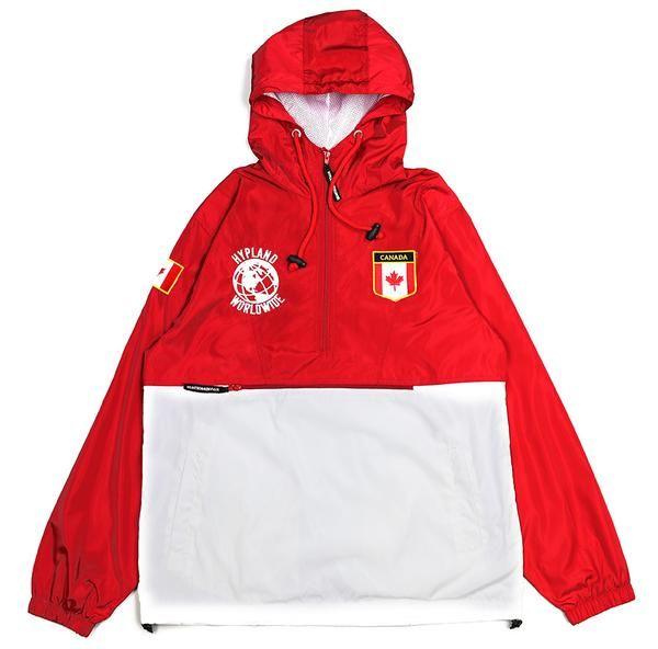 Civilizar Destrucción realidad  CANADA WORLD FAMOUS JACKET (RED/WHITE) | Red jacket, Jackets, Sweater hoodie