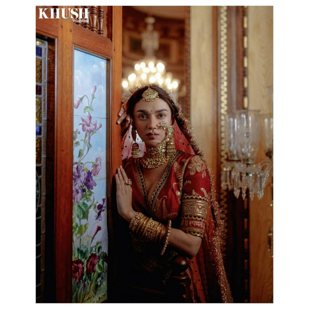 Aditi Rao Hydari's Latest Bridal Shoot Is A Royalt