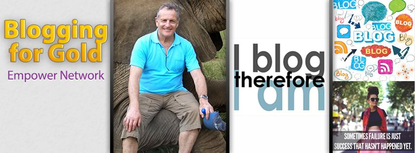 My Facebook page 'Blogforgold' Cover picture. The elephant pic was in the Karoo, South Africa 3 or 4 years ago