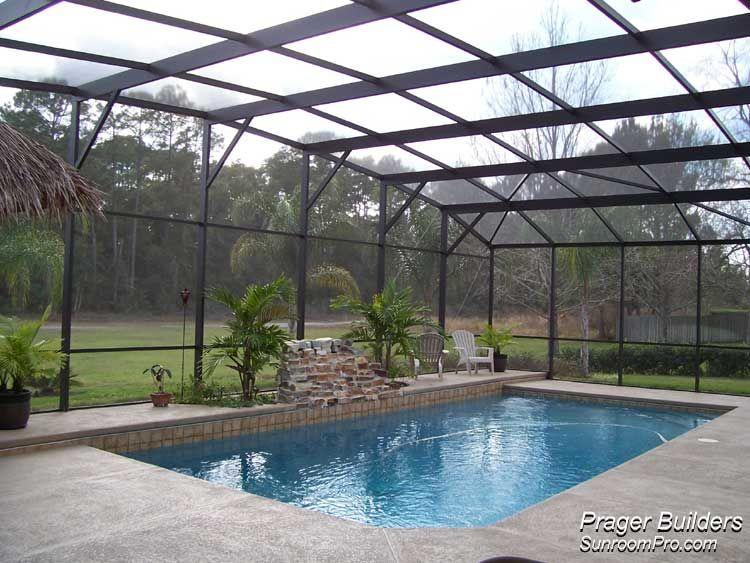 Lake Mary Florida Pool Screen Enclosure Prager Builders Sunroom Pro Pool Screen Enclosure Florida Pool Pools Backyard Inground