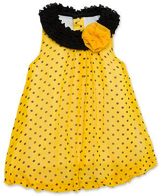 Baby Essentials Baby Girls' Dot Bubble Romper