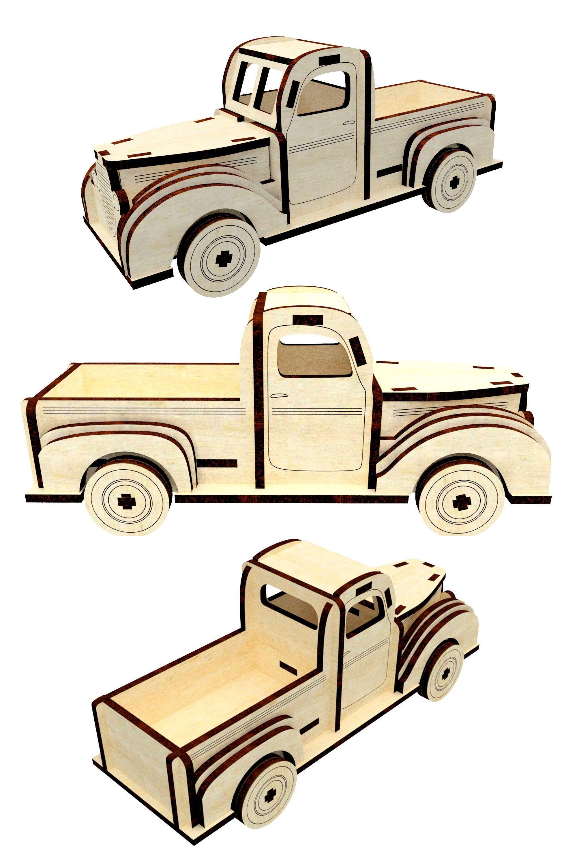 Vector Plan Box Milling  Design For Laser CNC And CNC 3D Puzzle Suitable For Commercial Use Design For Laser CNC 3 D Model Furniture Plan