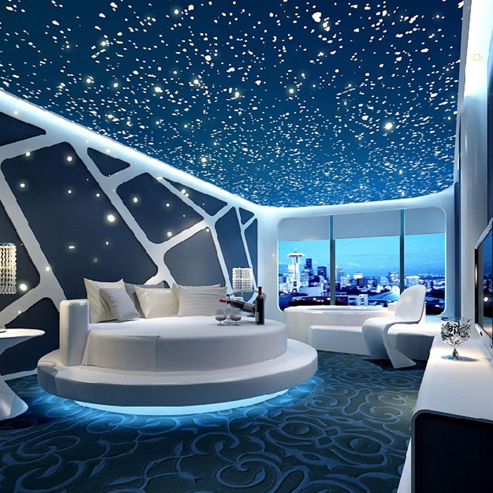 Decorative Decals Ebay Home Furniture Diy Space Themed Bedroom False Ceiling Design Dream Rooms Space themed living room