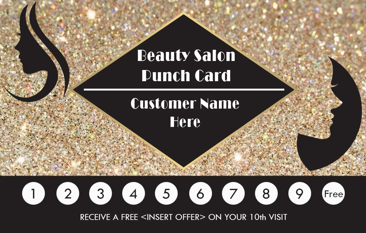 The Captivating 50 Punch Card Templates For Every Business Boost In Business Punch Card Template Free Photogr Punch Cards Card Templates Free Card Template