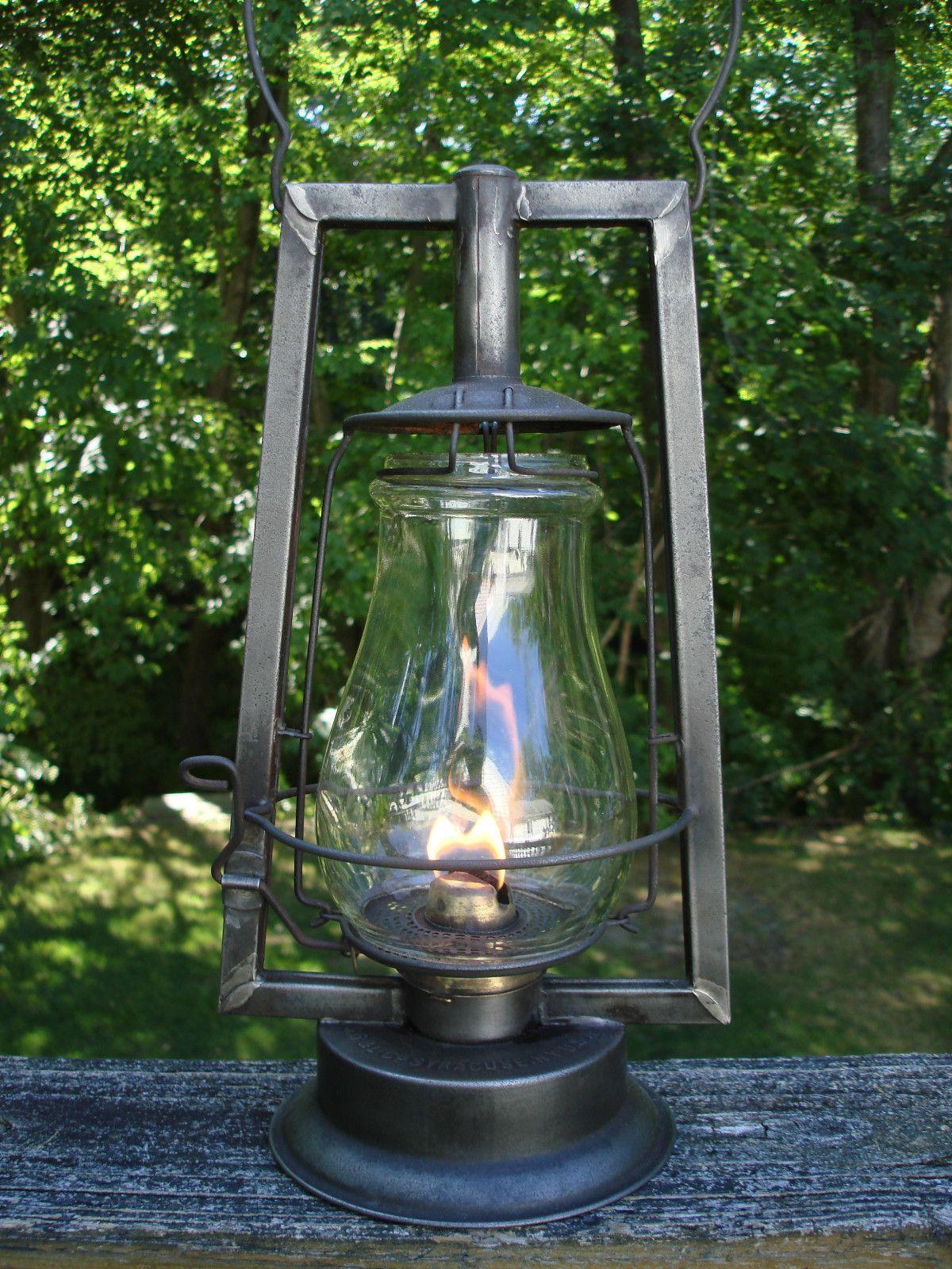 S G Amp L Steam Gauge Amp Lantern Victor 1898 1900 Made