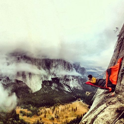 """""""Mikey Schaefer Makes First Free Ascent of Father Time (5.13b) on Yosemite's Middle Cathedral"""""""