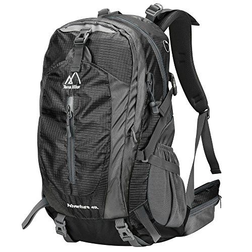 f506ee5c67 Terra Hiker 40L Hiking Backpack Daypack with Internal Frame and Rain Cover  for Long Hours Carrying    Details can be found by clicking on the image.