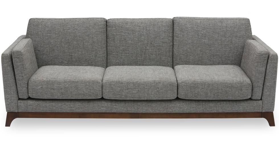 Ceni Volcanic Gray Sofa Scandinavian Furniture Sofa