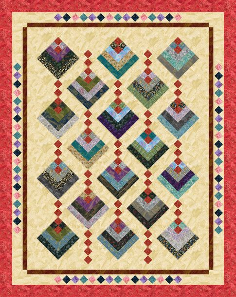 Hanging Gardens Designed By Cozy Quilt Designs Features