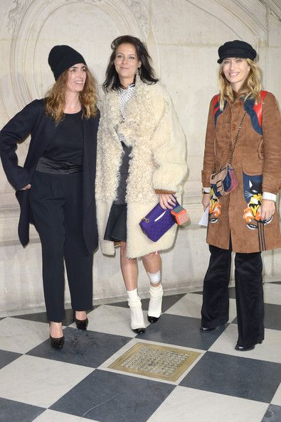 Mademoiselle Agnes Photos - Front Row at the Christian Dior Show - Zimbio