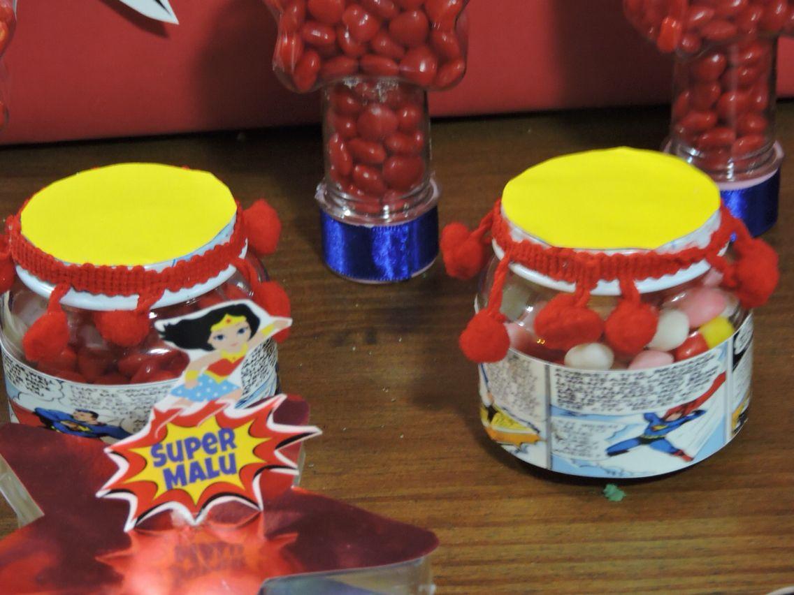 festa Mulher Maravilha é Super Man