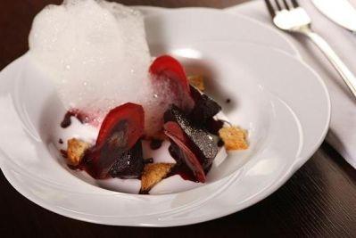 Kuchnia Molekularna Szukaj W Google Food Desserts Pudding