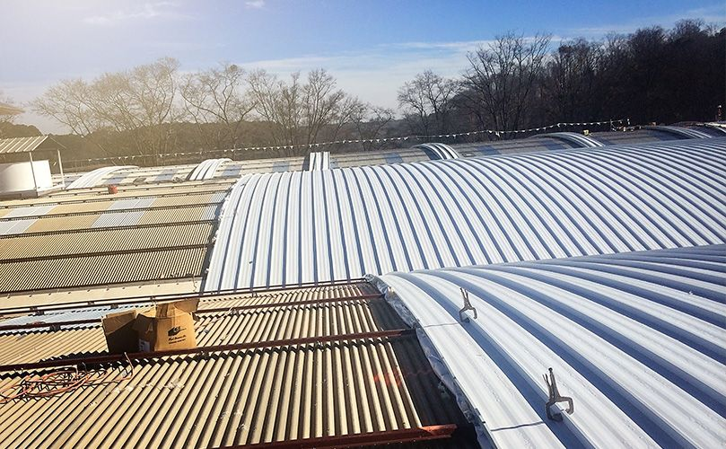 Just About Any Roofing Job Is Going To Be Expensive A Roof Replacement Can Cost Up To 100 000 Still You Do Have A B In 2020 Roofing Jobs Commercial Roofing Roofing