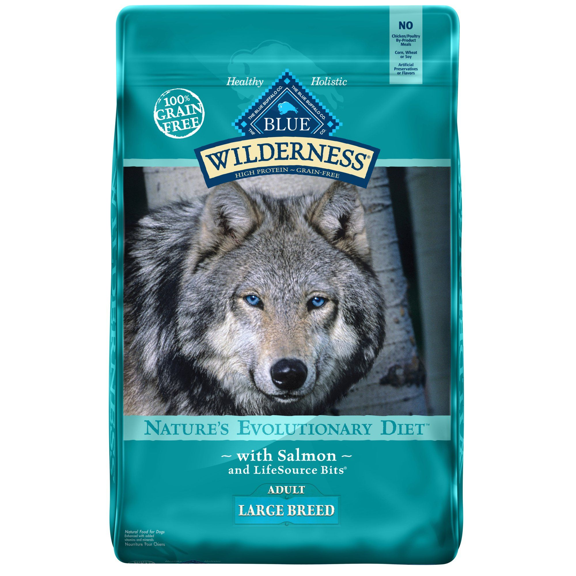 Blue Buffalo Blue Wilderness Large Breed Adult Salmon Recipe Dry