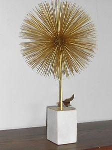 Cool Atomic Starburst Pom Pom Large Marble Base Jere Era Design XLNT Mid Century | eBay