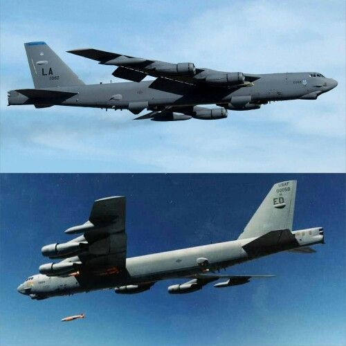 Boeing B 52 Stratofortress Of The U S Air Force History: The Boeing B-52H Is In Its Fifth Decade Of Operational