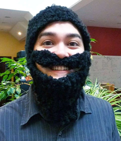 Knit Beard Hat Beard Hat Knitted Hat And Patterns